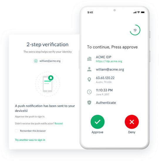 Super Gluu | Free & Secure Mobile Two-Factor Authentication